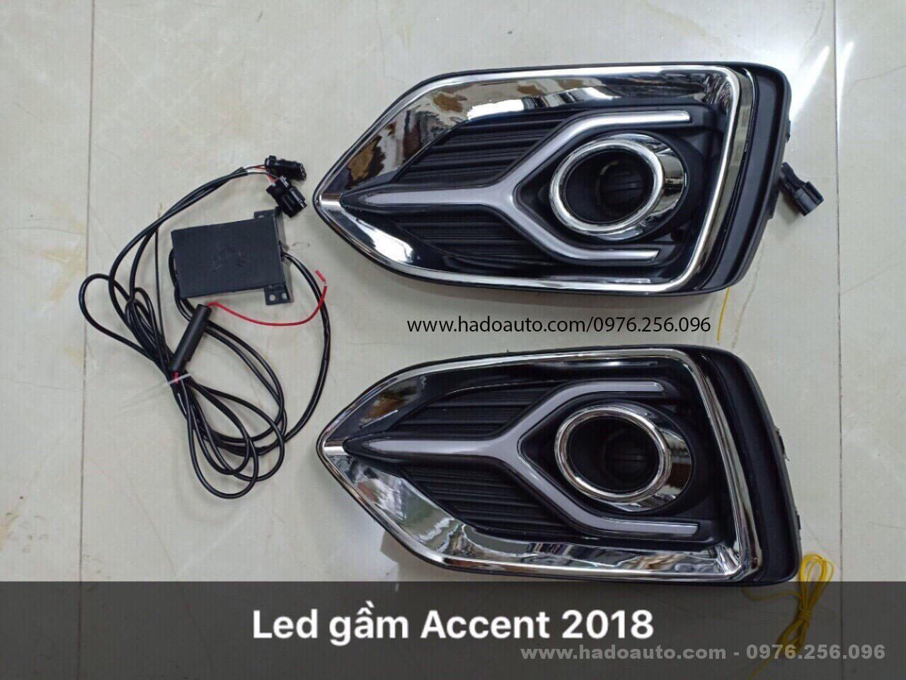 den led gam hyundai accent 2018