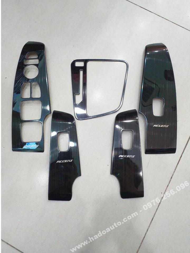 Bộ ốp nội thất Hyundai Accent 2018 - 2019