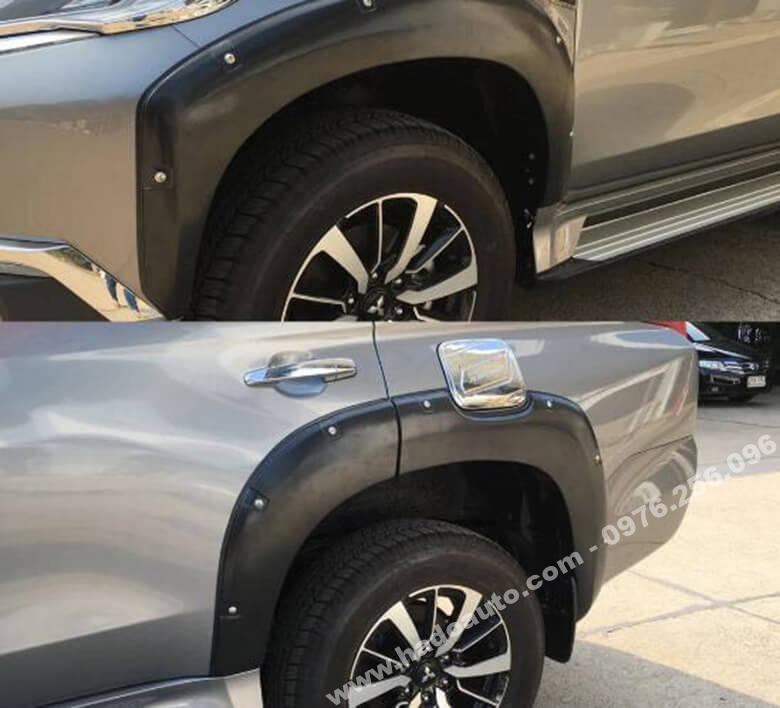 Bộ ốp cua lốp Mitsubishi Pajero Sport All New