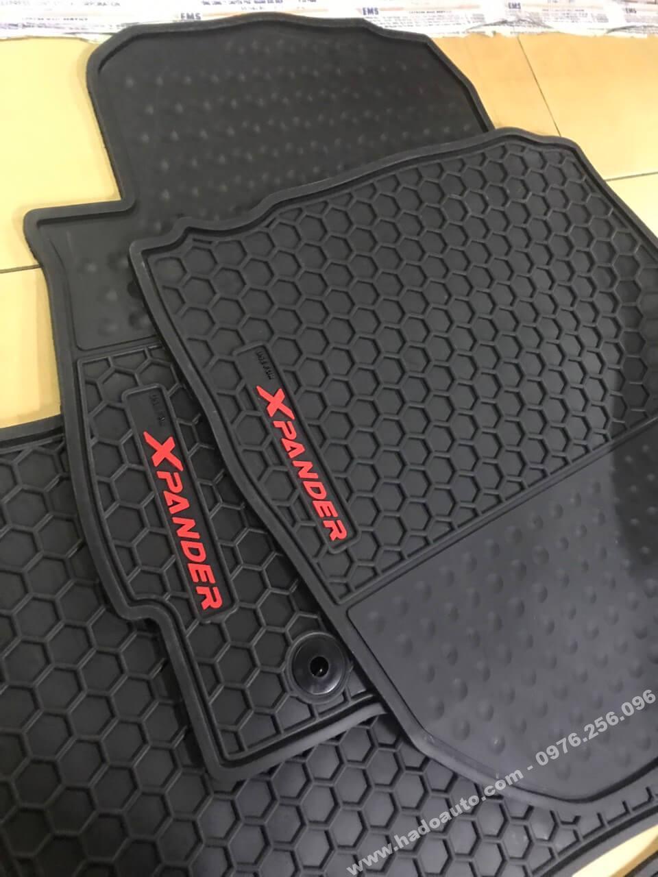 Bộ lót sàn cao su theo xe Xpander Full 3 hàng ghế