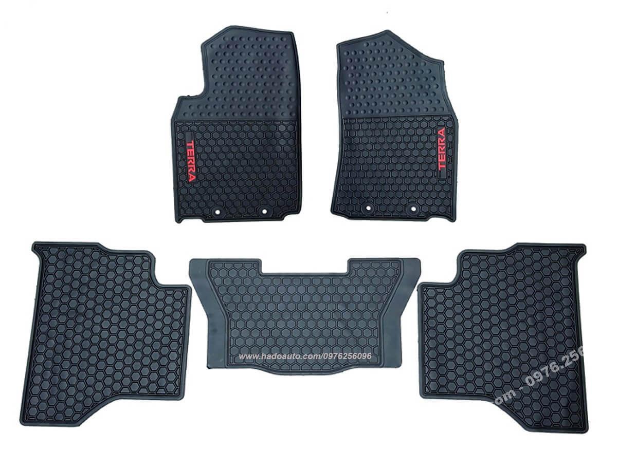 Bộ lót sàn cao su Nissan Terra Full 3 hàng ghế